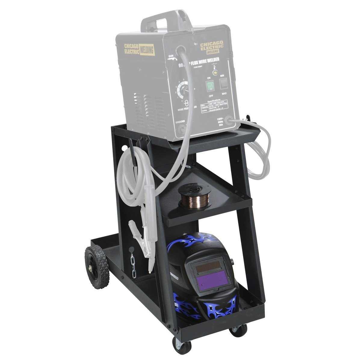 Chicago MIG and Tig Welding Cart | Mig Welder Reviews!