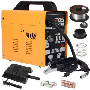 goplus mig 130 flux-core welding machine