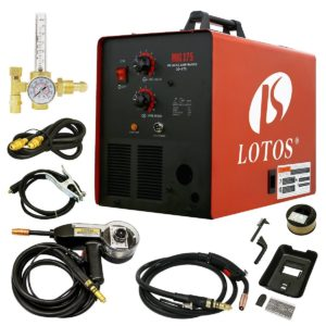 lotos mig175 welder with spool gun